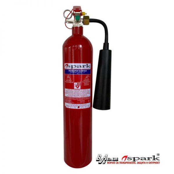 Пожарогасител СПАРК 2кг CO2