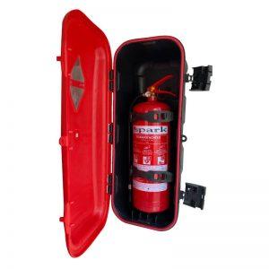 Кутия за пожарогасител за МПС